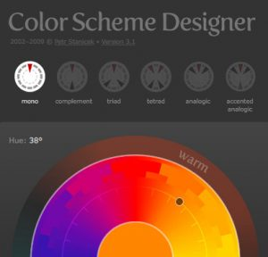 Color Scheme Web